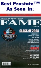 NFL 2008 Hall of Fame Program Cover